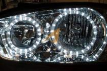 01-03 Hyundai Elantra   01-03 Elantra Angel Eye Headlights