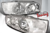 01-03 Hyundai Elantra Crystal Clear Head Lights